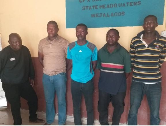 Police release names, faces of five officers who killed a girl at Ajegunle