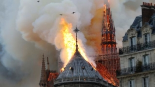 Notre Dame Cathedral main structure saved