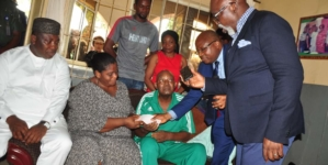 Femi Otedola redeems $50,000 pledge for Chukwu's medical trip abroad
