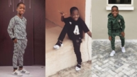 Wizkid's son set to start clothing line, wishes to style Nigerian artistes