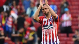 Tearful Godin confirms Atletico exit