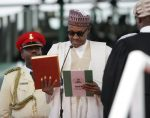 JUST IN: President Buhari sworn in for second term