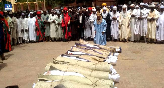 Victims of Katsina banditry attack buried