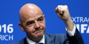 Gianni Infantino re-elected for second term as FIFA president