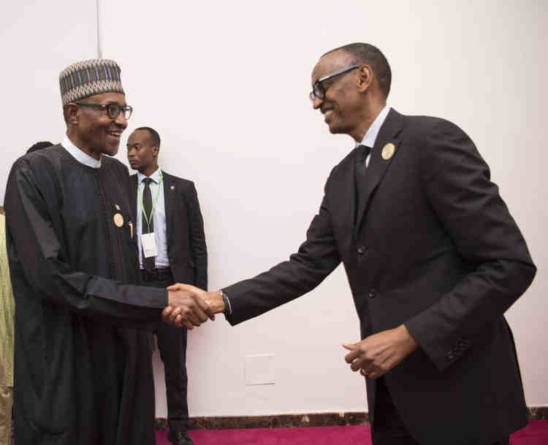 Kagame To Buhari: We must in addition to fighting corruption, create wealth