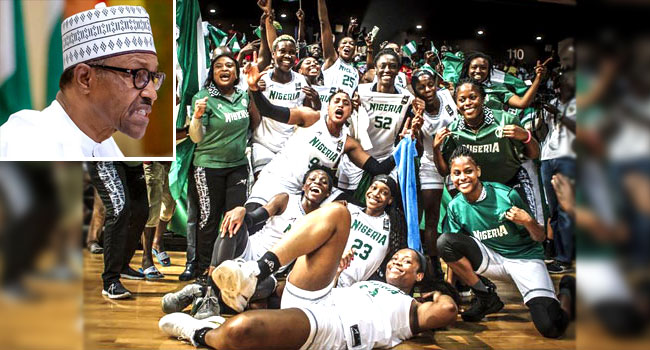 Buhari hails D'Tigress for Afrobasket 2019 victory