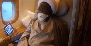 El-Zakzaky on his way back to Nigeria