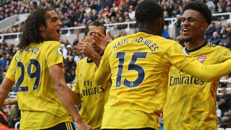 Arsenal boss Unai Emery encouraged by 1-0 win at Newcastle