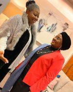 Aisha Buhari returns to Nigeria from UK