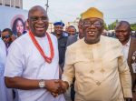 Photos: Fayemi attends Fayose's son wedding in Lagos