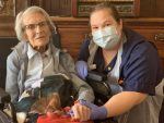 106-year-old leaves hospital after recovering from coronavirus