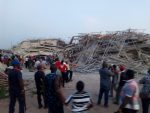 Eight story building collapses in Owerri, many trapped