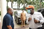 PHOTOS: Obaseki visits Wike in Port Harcourt amid PDP defection rumours