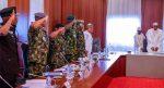 Again, Buhari, NGF Security Council, Service Chiefs meet