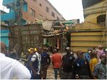 Many feared dead in Lagos building collapse