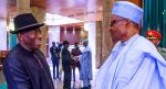Buhari names railway complex after Goodluck Jonathan