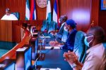 Obaseki in Aso Rock, says it will be immoral to return to APC