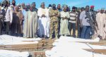 Governor Zulum leads residents to bury  rice farmers slain by Boko Haram