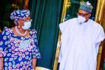 Buhari congratulates Okonjo-Iweala, says track record of integrity, diligence, and passion will  yield positive results