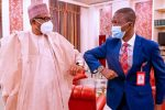 PHOTOS: Bawa visits Buhari for the first time as EFCC boss