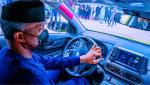 Osinbajo test-drives Nigeria's first locally-assembled electric car